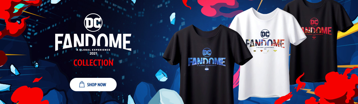 DC Shop Merch - Shop and buy DC FanDome merchandise from all shops