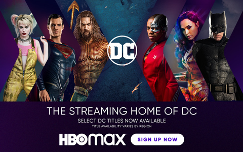 HBO MAX Banner - null