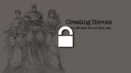 Creating Heroes: The Life and Art of Jim Lee