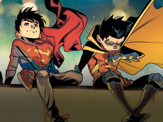 Super Sons: Planet of the Capes