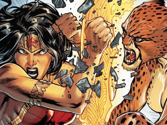 Wonder Woman vs. The Cheetah