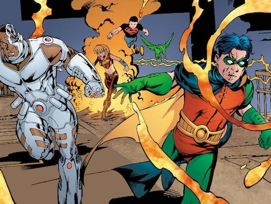 Teen Titans: A Kids Game