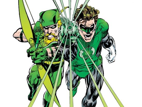 Green Lantern and Green Arrow: Hard-Traveling Heroes