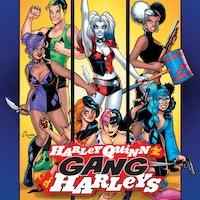 Harley Quinn and Her Gang of Harleys