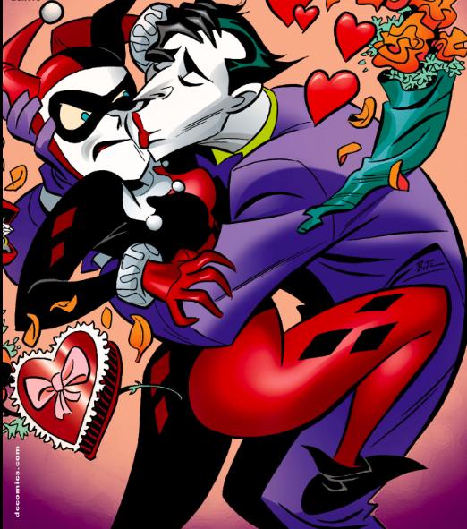 Joker Kissing Harley.png