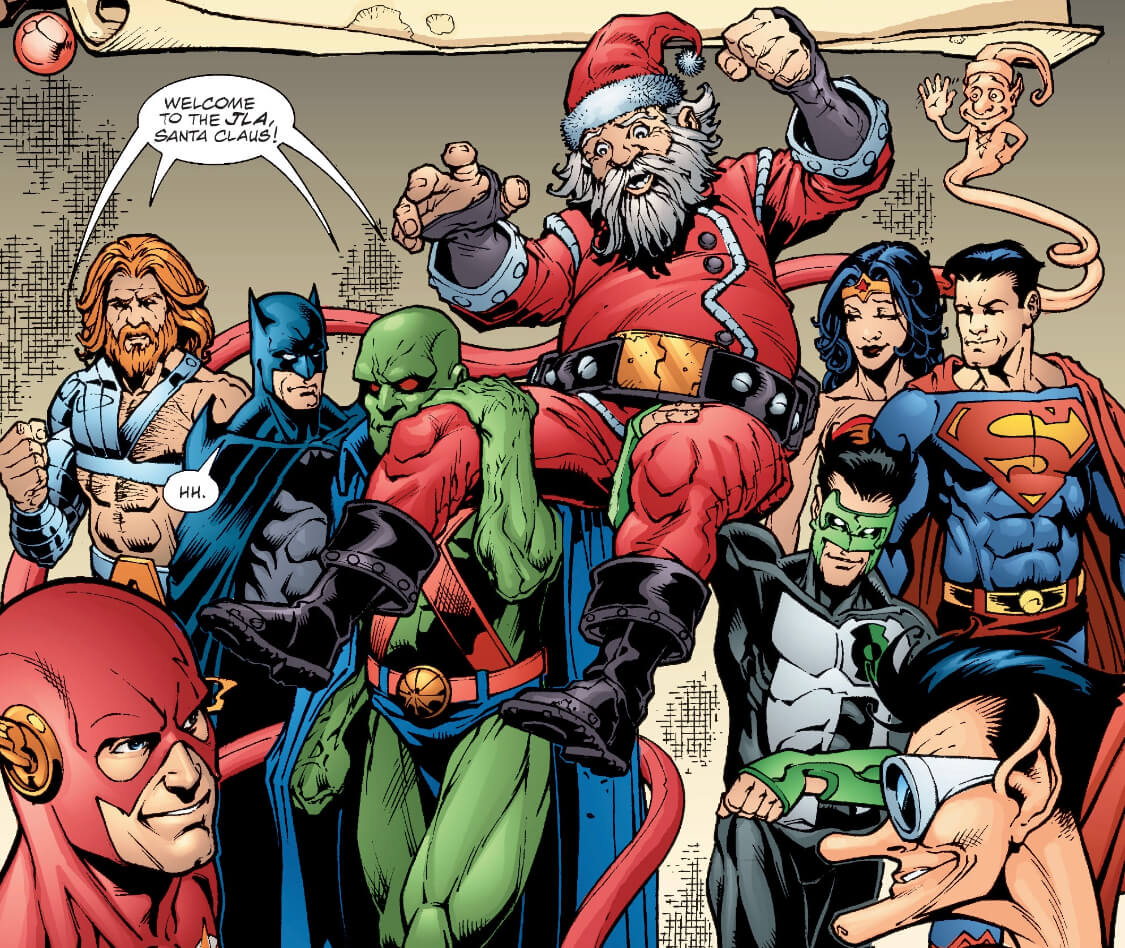 5 Santa Claus Team Up Stories