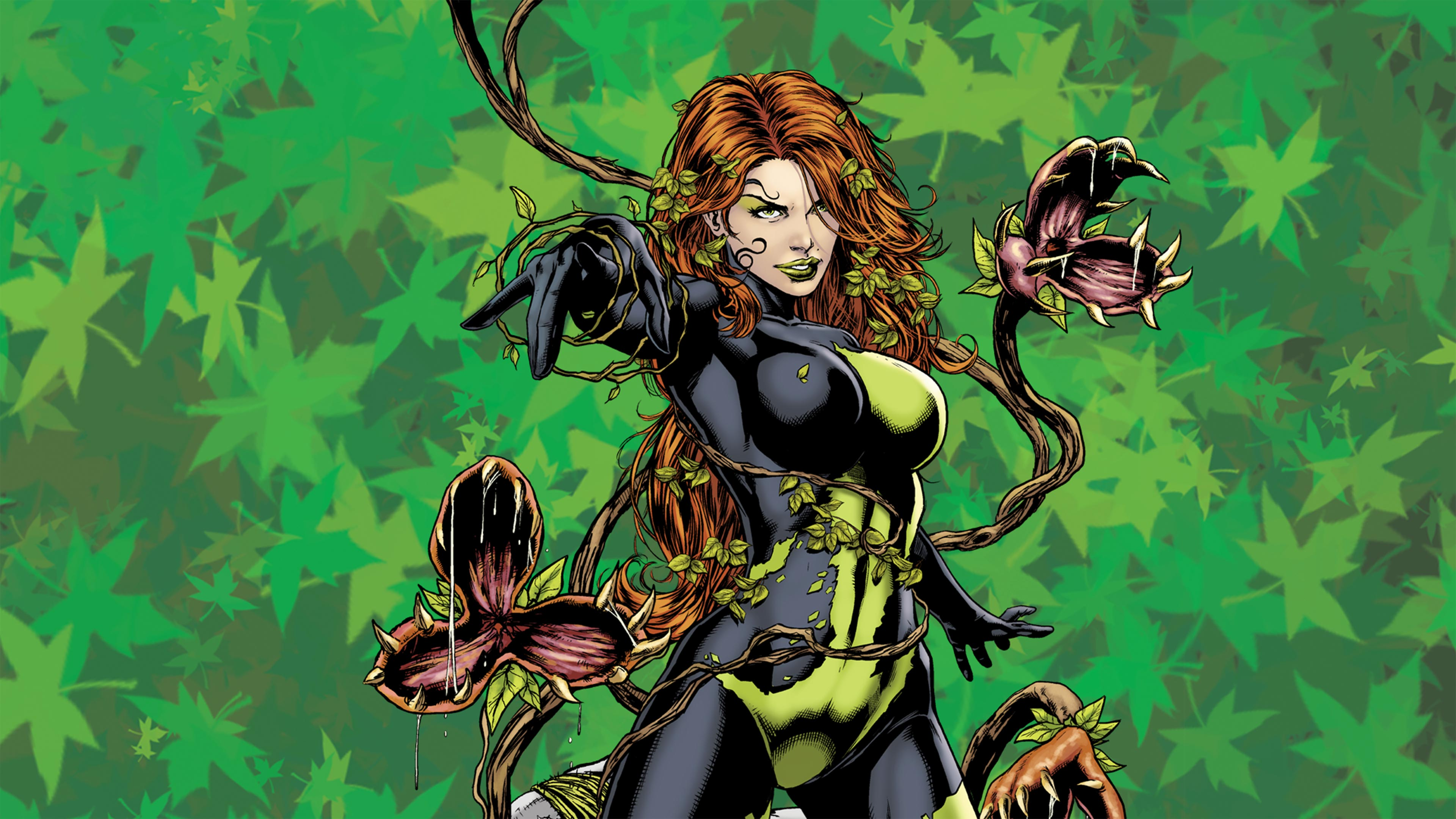 5 Times Poison Ivy Battled a Hero Other Than Batman