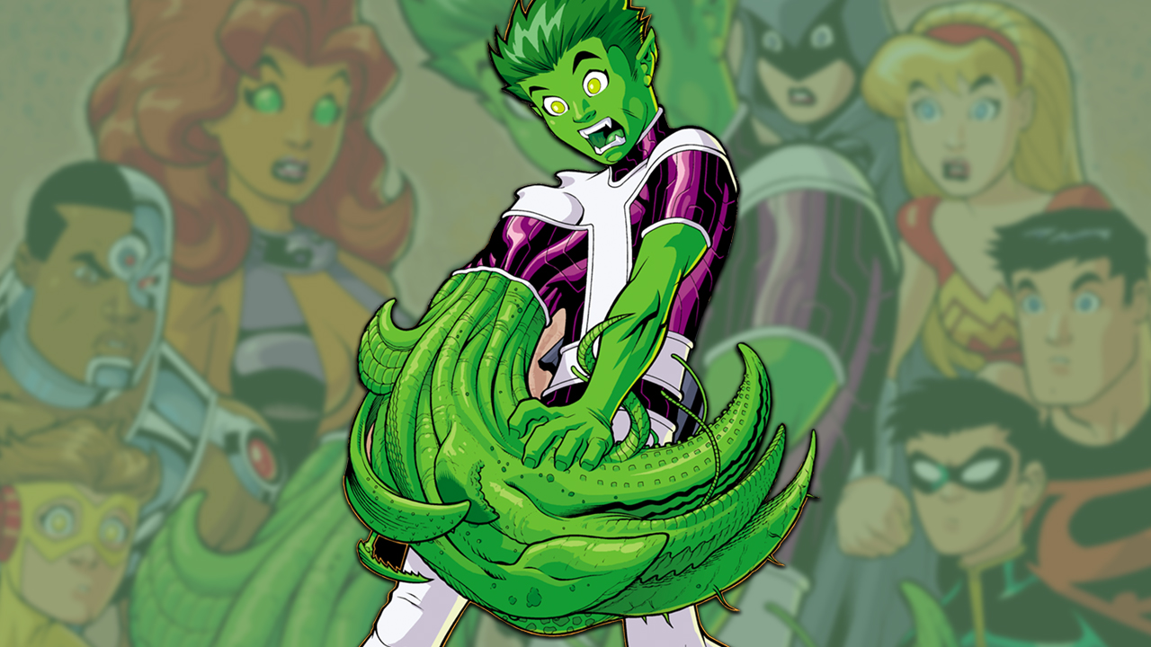 The 5 Most Outrageous Beast Boy Transformations