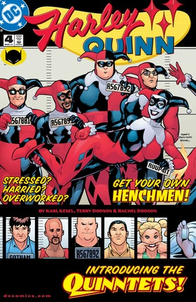 Harley Quinn (2000-) #4