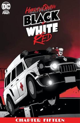 Harley Quinn Black + White + Red #15