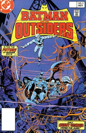 Batman and the Outsiders (1983-) #3