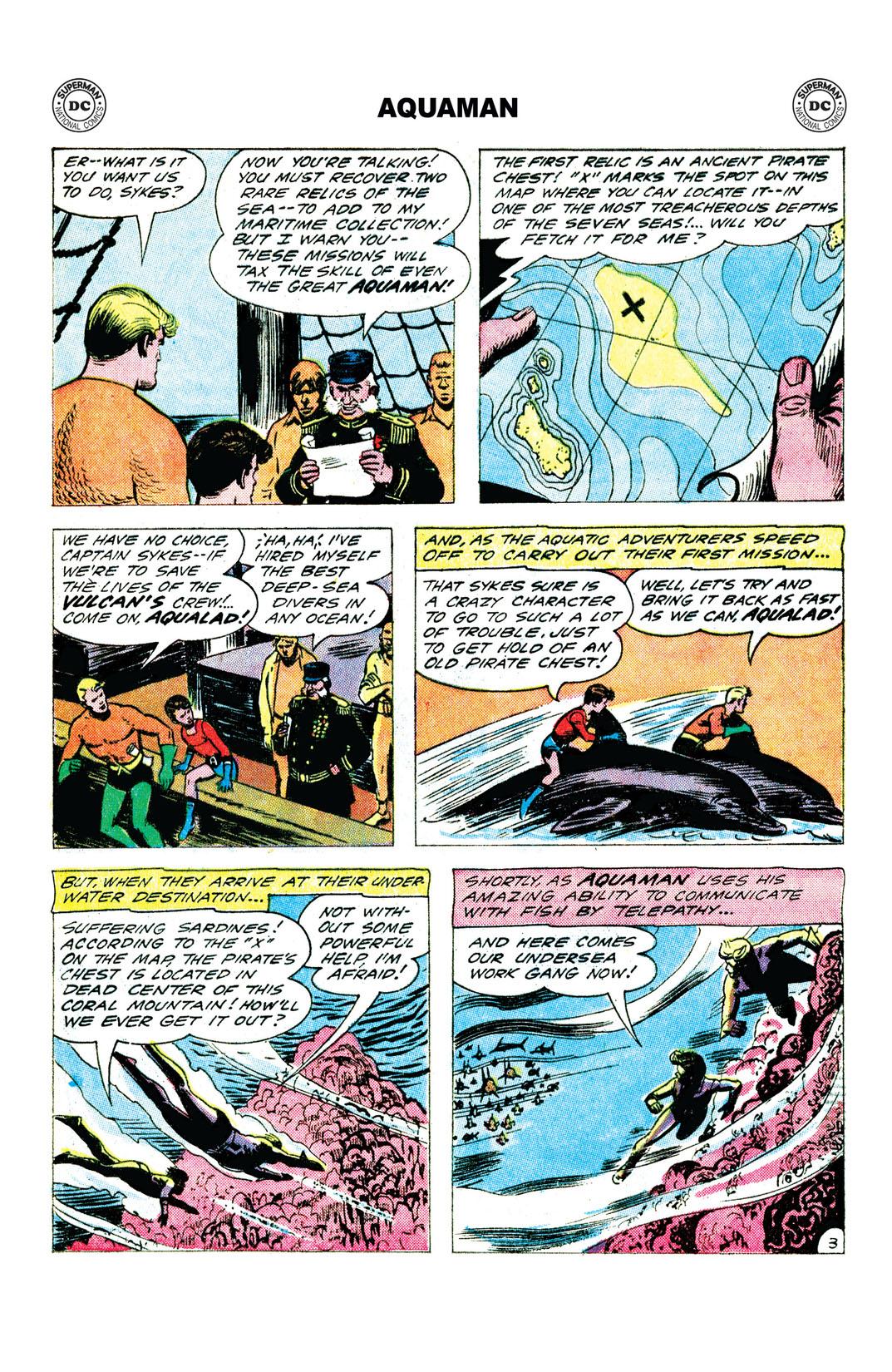 Read Aquaman 1962 2 On Dc Universe - Dc-universe-us-map