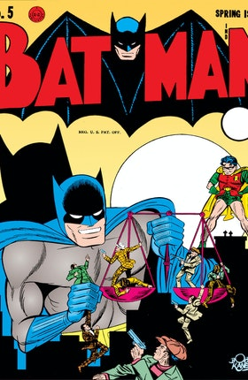 Batman (1940-) #5