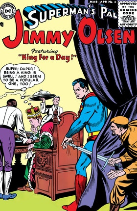 Superman's Pal, Jimmy Olsen #4