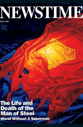 Newstime: The Life and Death of Superman #1