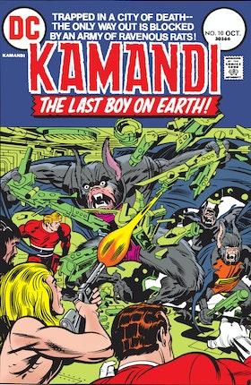 Kamandi: The Last Boy on Earth #10