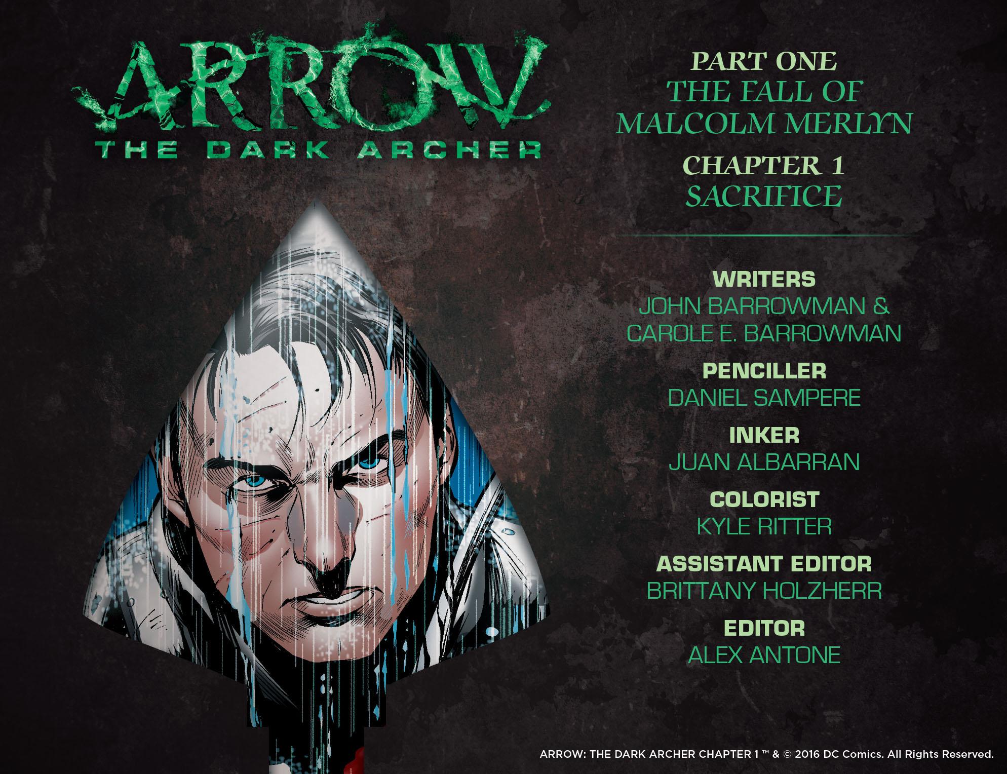 Read Arrow: Dark Archer (2016-) #1 on DC Universe