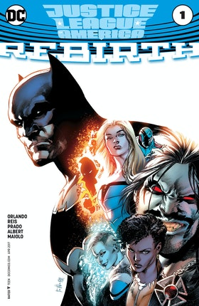 Justice League of America: Rebirth (2017-) #1