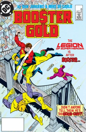 Booster Gold (1985-) #8