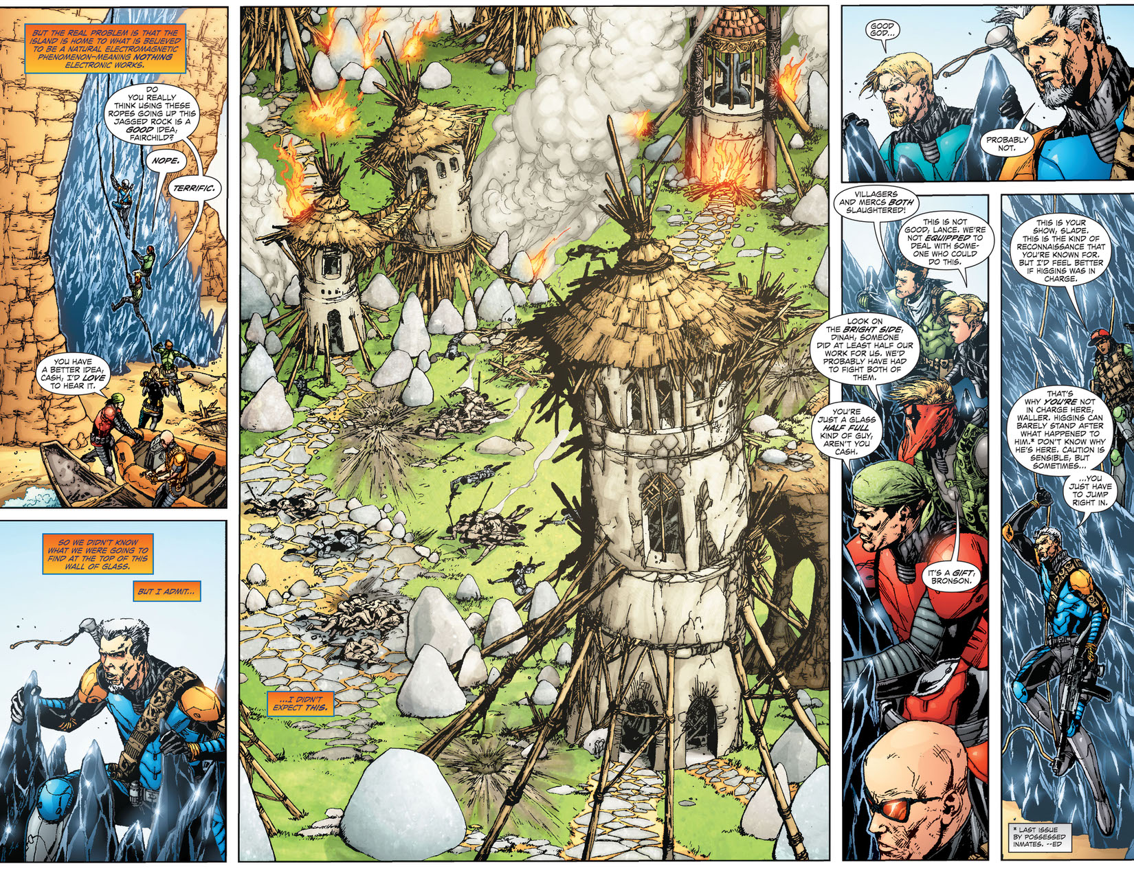 Read Team 7 (2012-) #3 on DC Universe