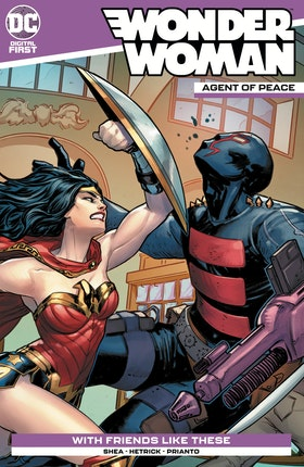 Wonder Woman: Agent of Peace #7