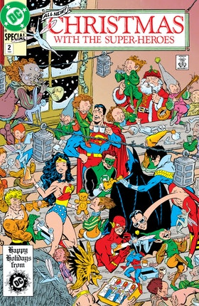 Christmas with the Super-Heroes #2