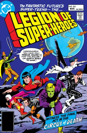 The Legion of Super-Heroes (1980-) #261