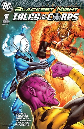 Blackest Night: Tales of the Corps #1