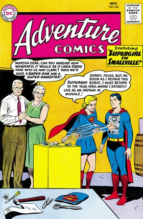 Adventure Comics (1938-) #278