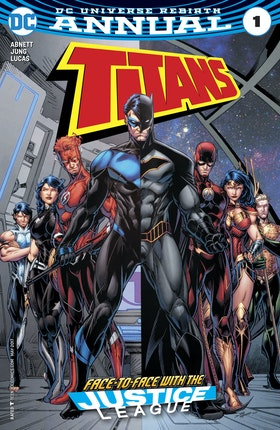 Titans Annual (Rebirth) (2017-) #1