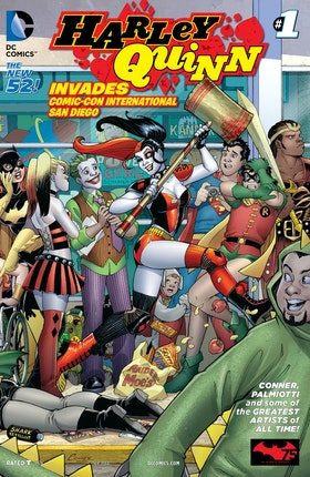 Harley Quinn Invades Comic-Con International: San Diego (2014-) #1