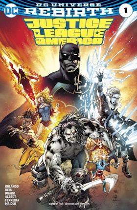 Justice League of America (2017-) #1