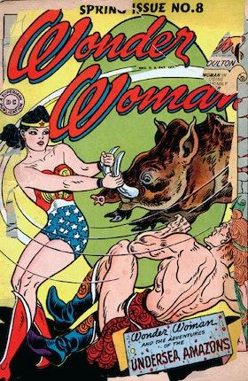 Wonder Woman (1942-) #8