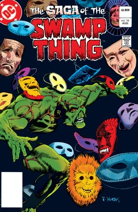 The Saga of the Swamp Thing (1982-) #16