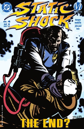 Static Shock!: Rebirth of the Cool #4