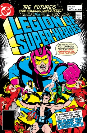 The Legion of Super-Heroes (1980-) #262