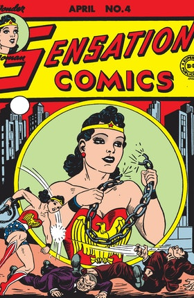 Sensation Comics #4-5