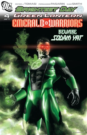 Green Lantern: Emerald Warriors #4