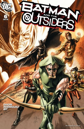 Batman and the Outsiders (2007-) #6