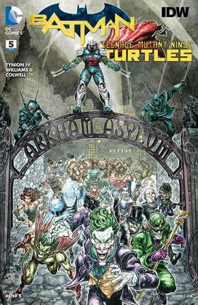 Batman/Teenage Mutant Ninja Turtles #5