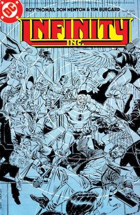 Infinity, Inc. (1984-) #12