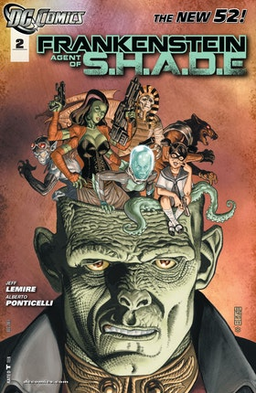 Frankenstein, Agent of SHADE #2