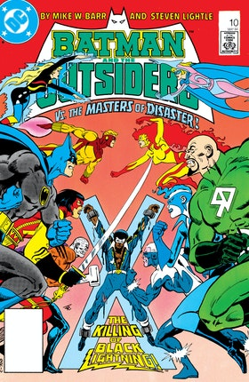 Batman and the Outsiders (1983-) #10