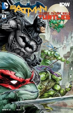 Batman/Teenage Mutant Ninja Turtles #2