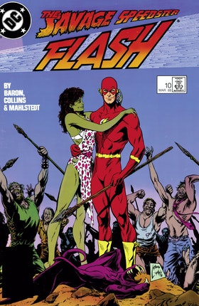 The Flash (1987-) #10