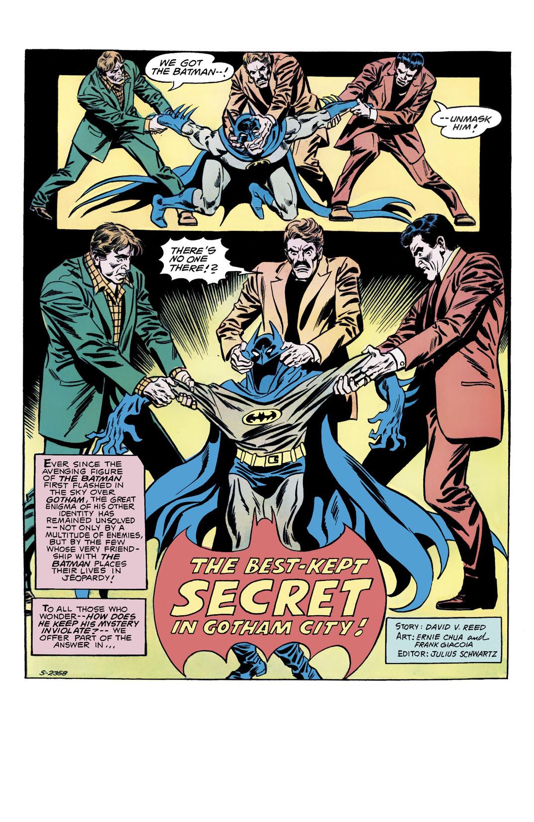 Read Detective Comics (1937-) #465 on DC Universe