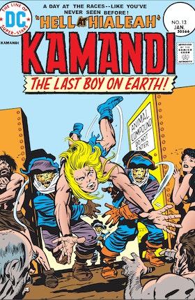 Kamandi: The Last Boy on Earth #13
