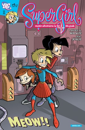 Supergirl: Cosmic Adventures in the 8th Grade #4
