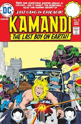 Kamandi: The Last Boy on Earth #19