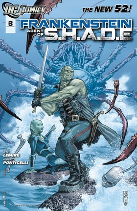 Frankenstein, Agent of SHADE #3
